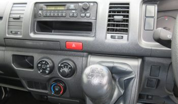 2015 Toyota Hiace manual transmission full