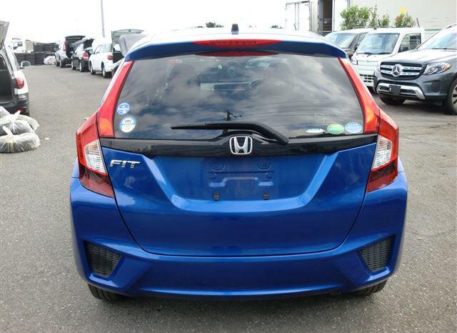 2017 Honda Fit Blue full