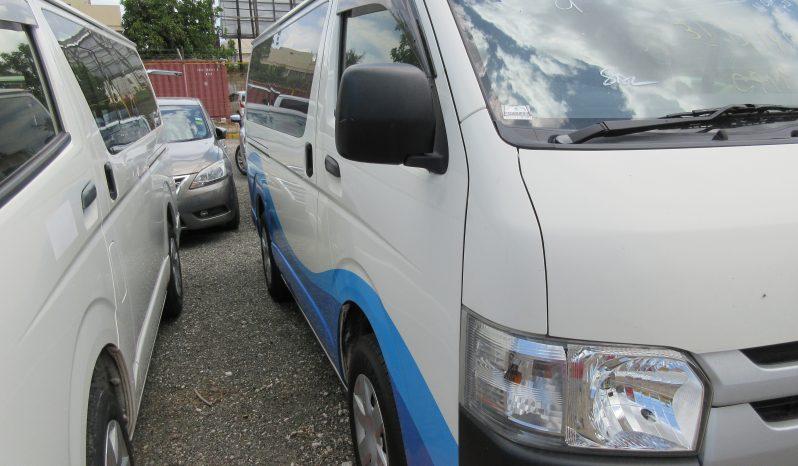 2015 Toyota Hiace Manual Transmission full